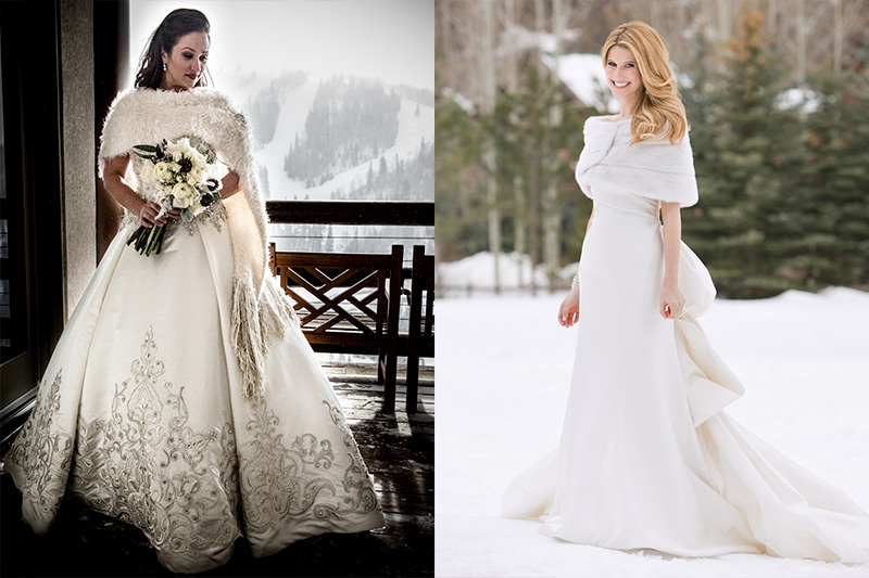 cea791c1cebb226 Зимние свадебные платья: как невесте выбрать теплое платье (советы и ...